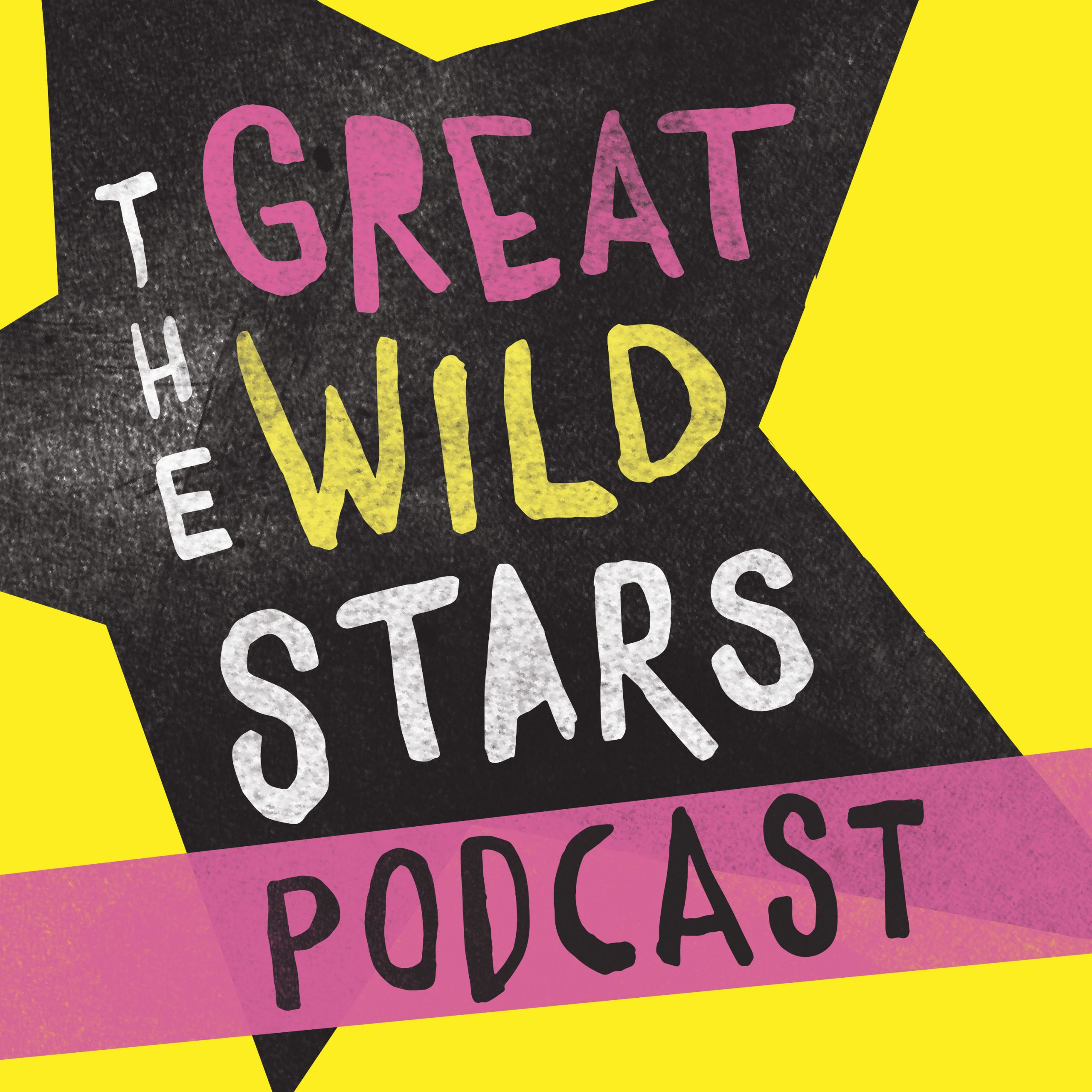 Logo for the Great Wild Stars Podcast